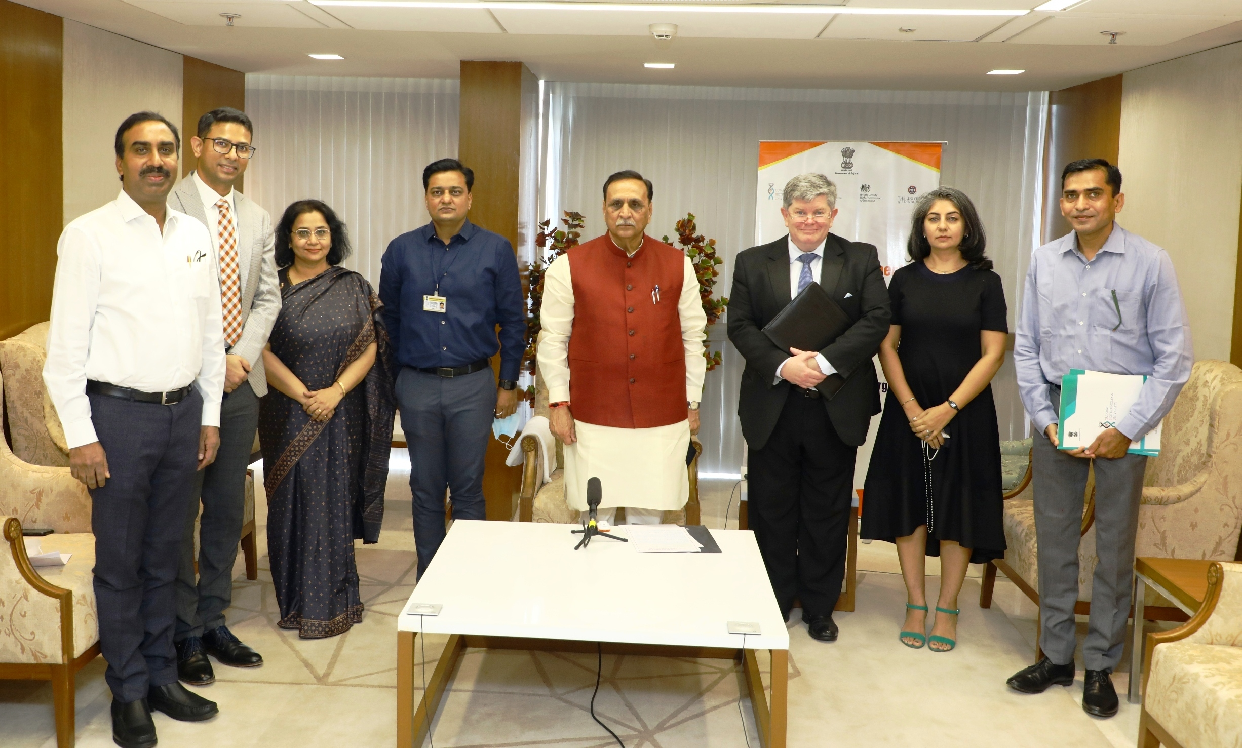 Photo of State to develop biotech. innovation ecosystem : Vijay Rupani